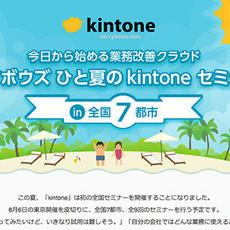 夏だ!花火だ!全国セミナーだ!!~kintone ひと夏の全国セミナー開催~