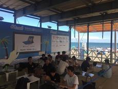 今年も湘南の海の家で、kintoneアプリをみんなで作ってみた ~kintone beachCamp~