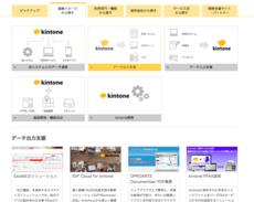 『kintone連携サービス』を一覧・検索できる専用サイトをオープン♪