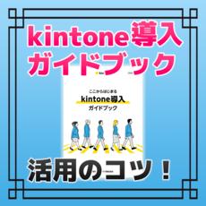kintone導入が捗る秘密!?ガイドブック活用のコツを製作者 東野さんに聞く